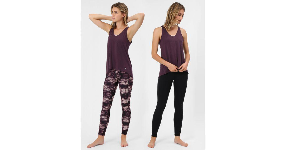 3ba3798aa4cc5 Sweaty Betty Reversible Yoga Leggings in Purple - Lyst