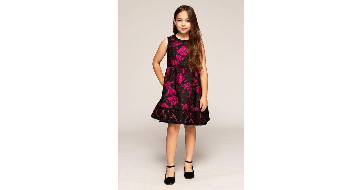 f8ea4340f85 Lyst - Tadashi Shoji Riley Dress in Black