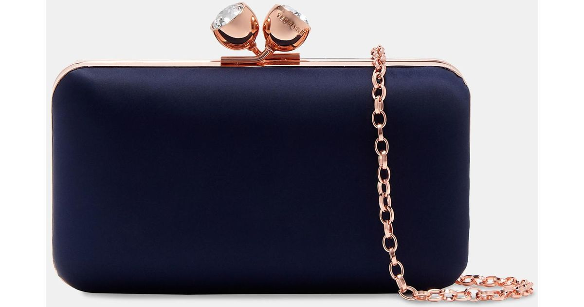 Bobble Clasp Satin Evening Bag Ted Baker RtUw36os