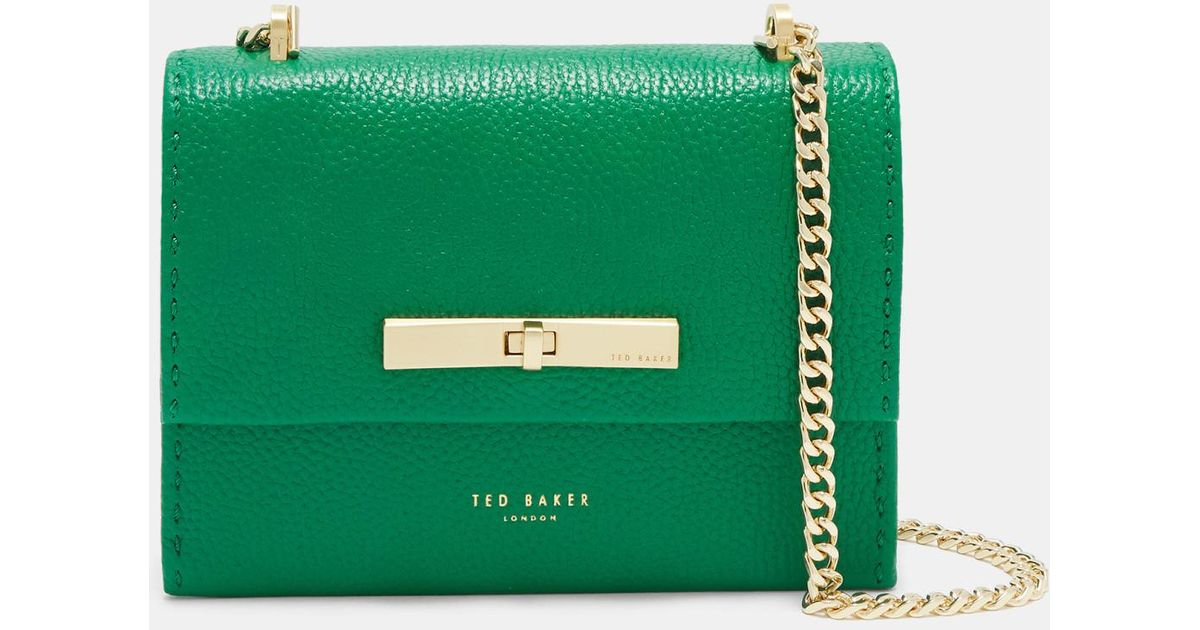 f9be8c429764 Ted Baker Concertina Mini Bag in Green - Lyst