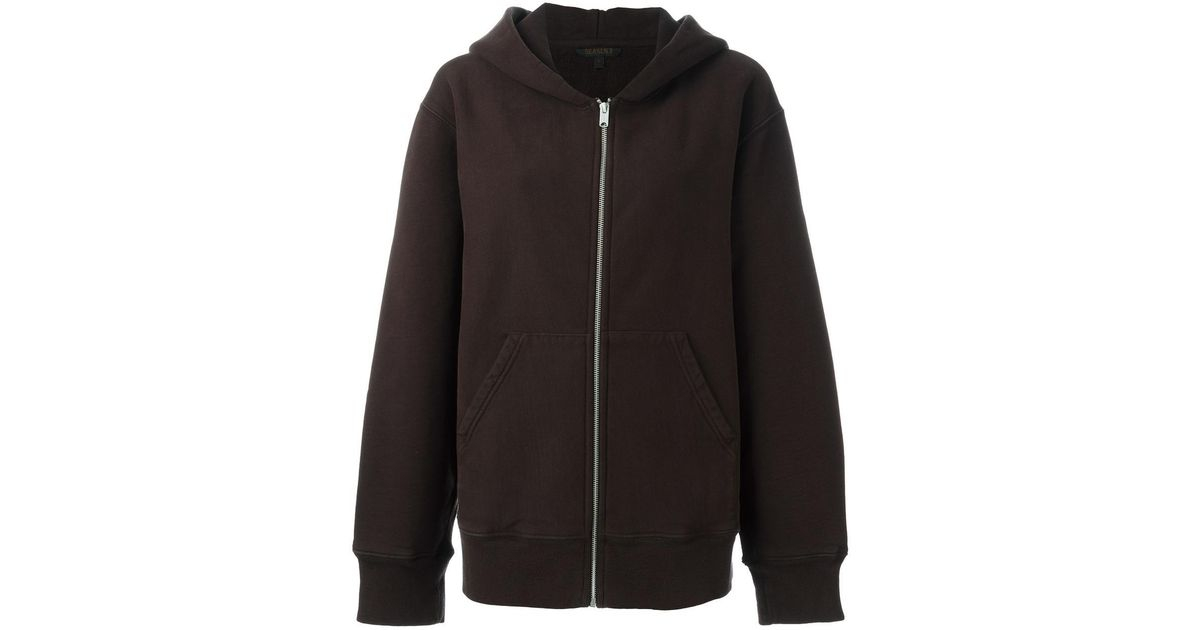 aa3a058a3 Lyst - Yeezy Zip Up Hoodie in Blue for Men