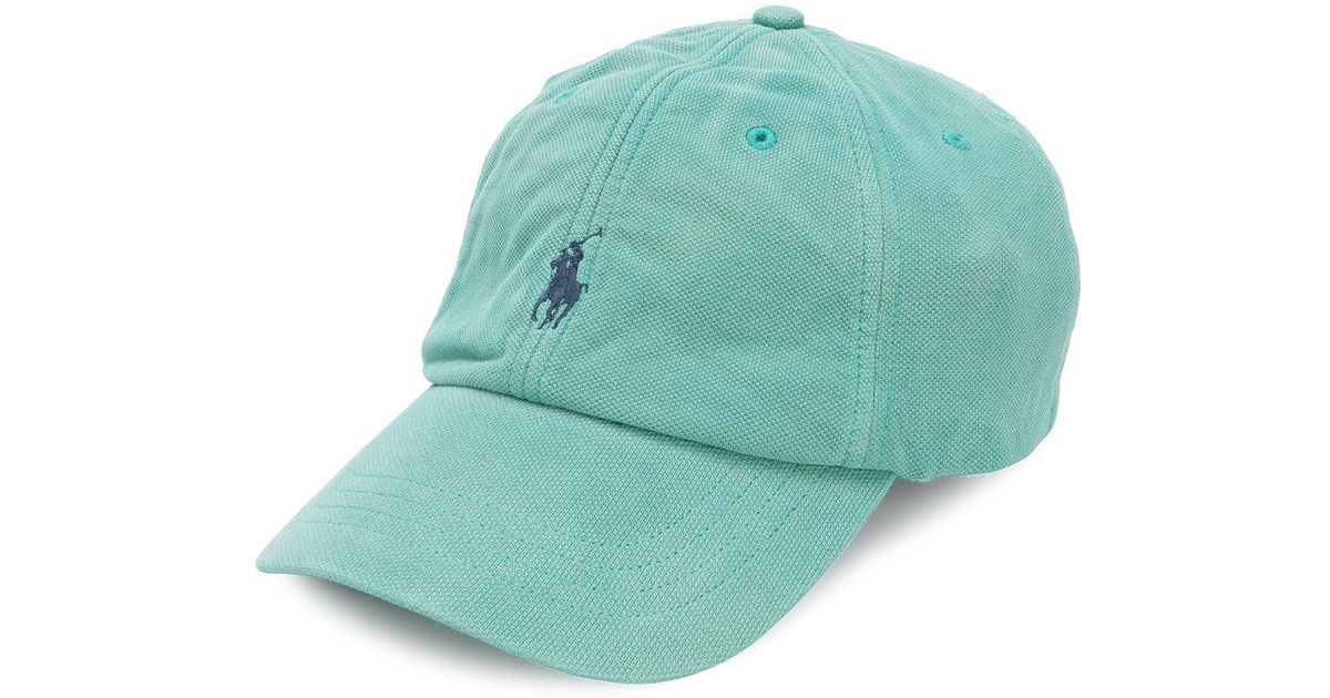 81788a21b5380 Lyst - Polo Ralph Lauren Cotton Hat in Green for Men