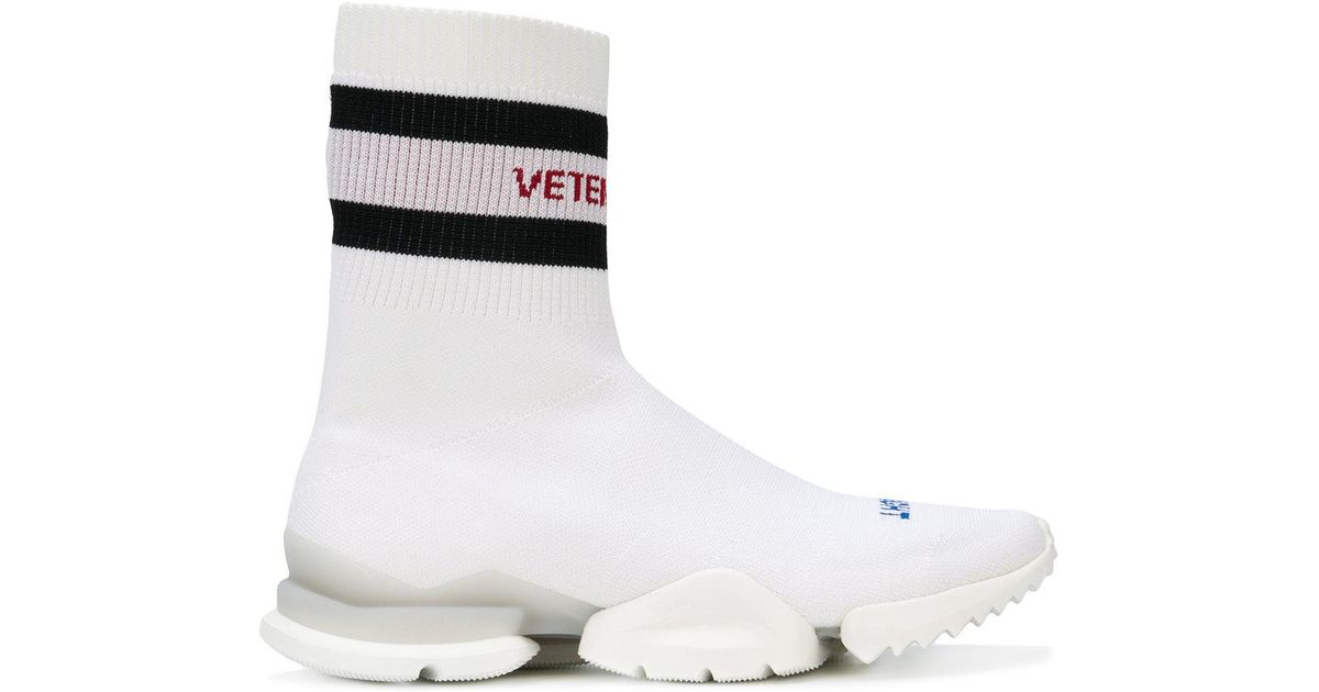 76fa0495fa6c Lyst - Vetements Reebok Socks Sneakers in White for Men