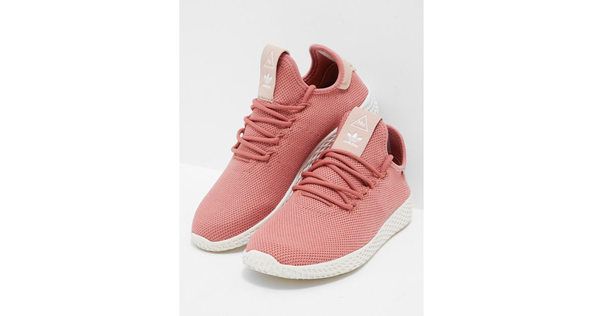 587764a0c adidas Originals Womens Pharrell Williams Tennis Hu Trainers Women s Pink  in Pink - Lyst