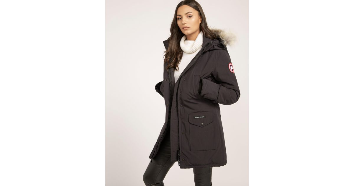 fa02614479e Canada Goose Trillium Padded Parka Jacket Navy Blue in Blue - Save 7% - Lyst