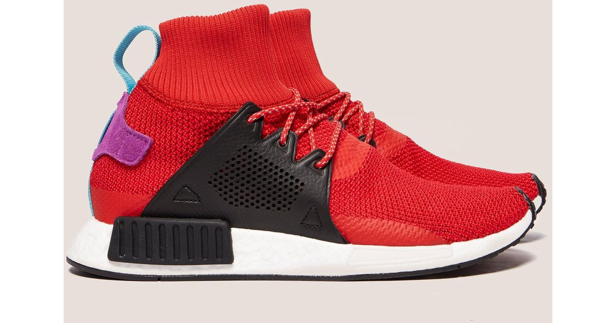 393c4a6b201cc Lyst - adidas Originals Mens Nmd Xr1 Winter Red in Red for Men