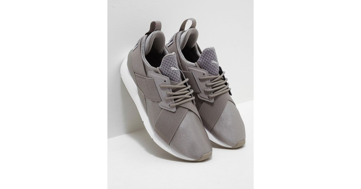 2f5f4812fed1 ... shopping lyst puma womens en pointe muse x strap womens grey in gray  bc45e 33049