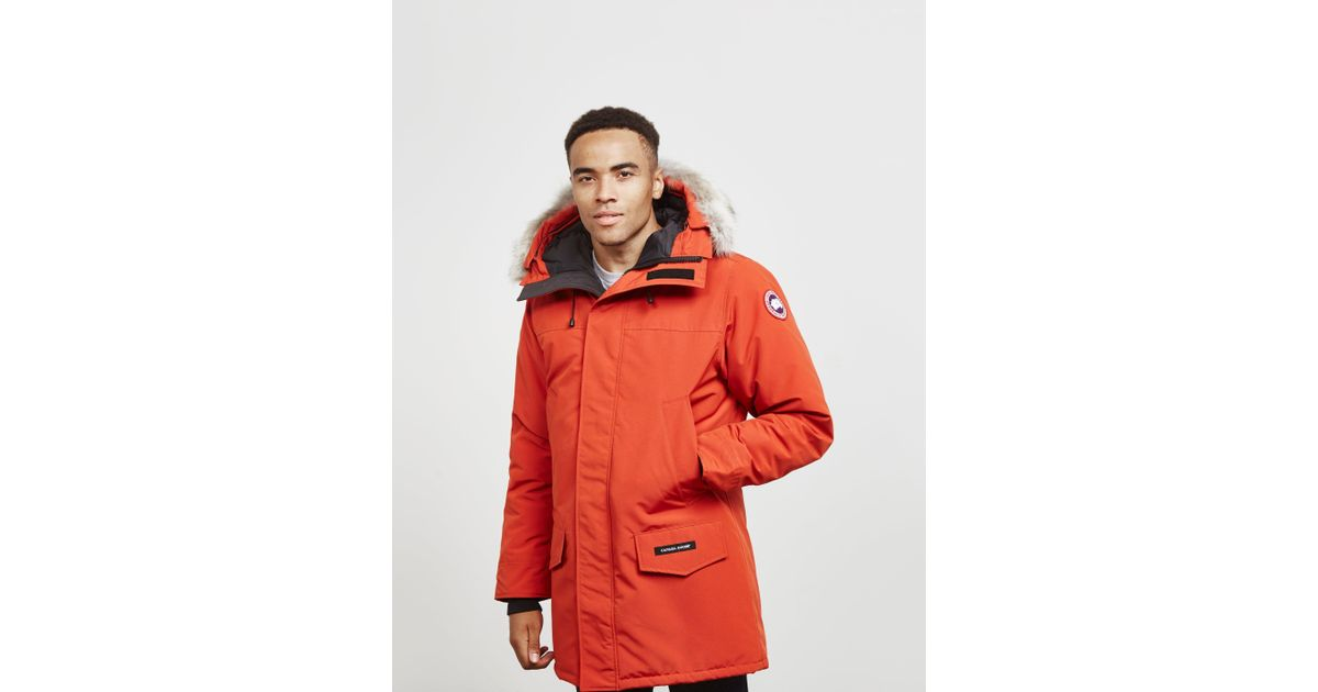 9c3d7a668aad Canada Goose Langford Parka Jacket Red in Red for Men - Lyst