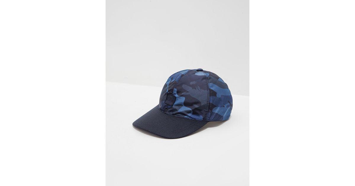cc5502312df Paul   Shark Sharkflage Cap in Blue for Men - Lyst