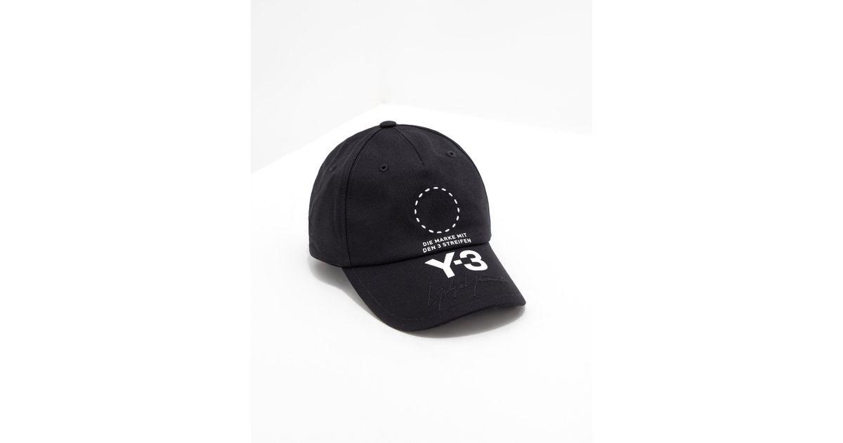 30a173106f231d Y-3 Y3 / Adidas in Black for Men - Lyst
