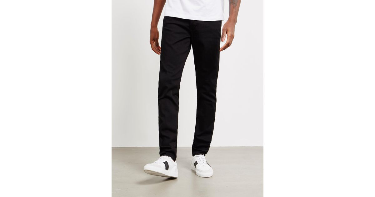 0a30150d094a Lyst - Emporio Armani Mens J11 Skinny Jeans Black in Black for Men