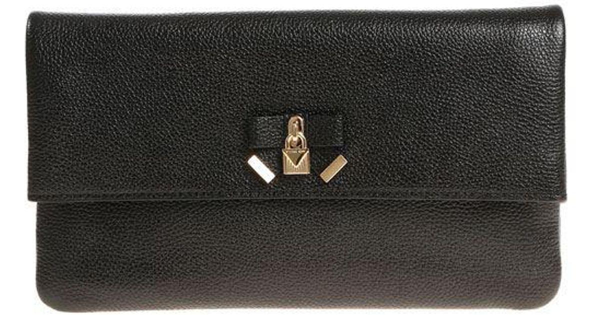 Michael Kors Black Everly shoulder bag JGpATA