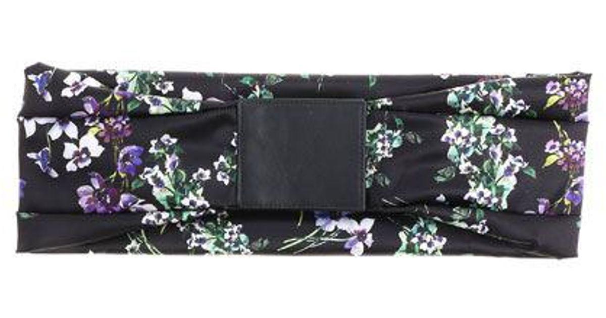 Black floral belt Blumarine Pjhsg5dvqb