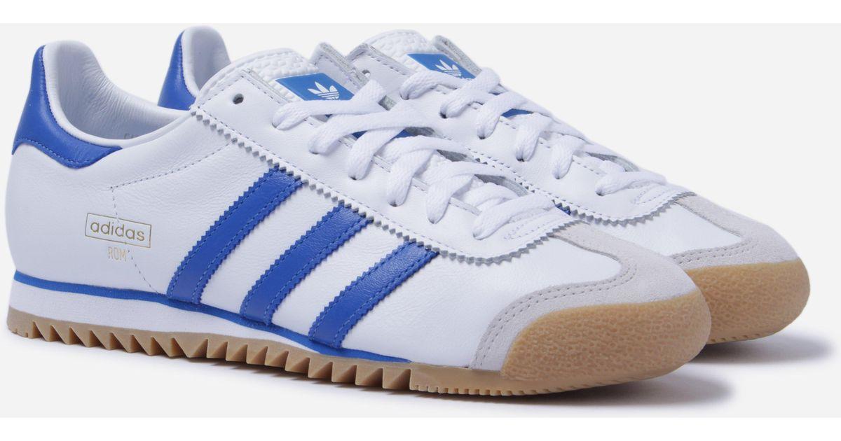 c8844c22da3 ... adidas originals rom in white for men lyst