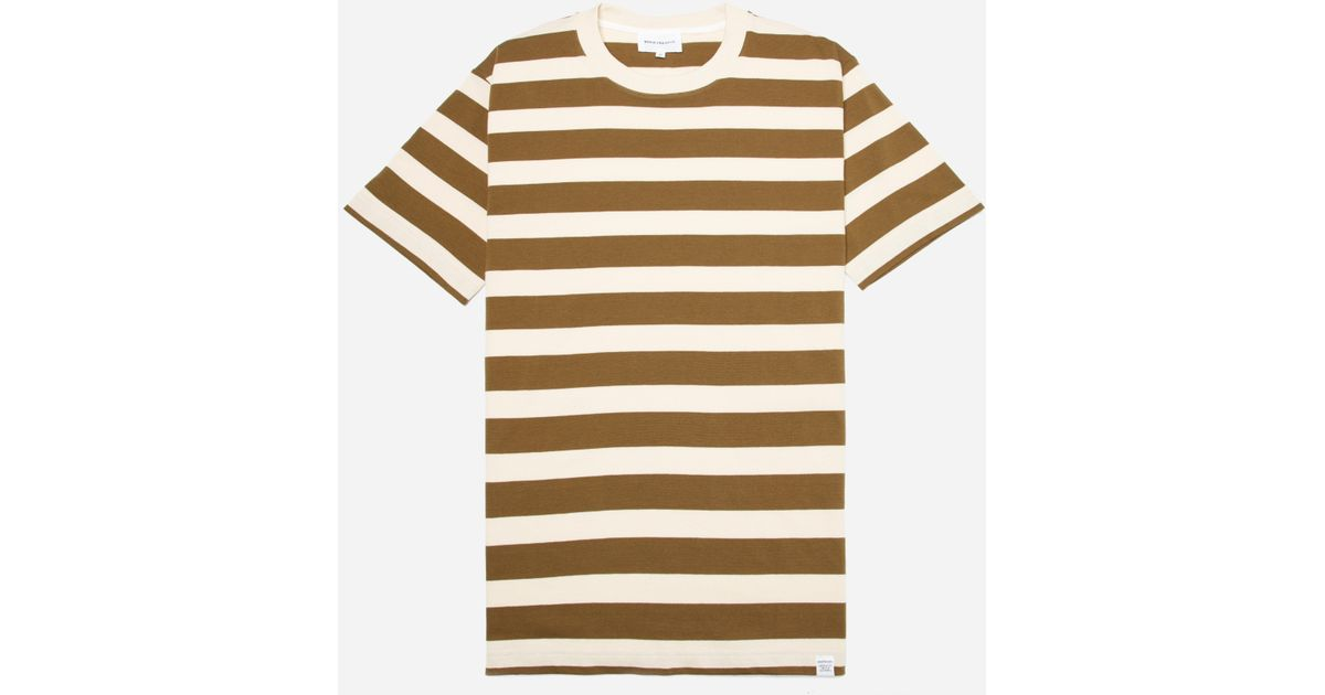 a979fbd9d Lyst - Norse Projects Johannes Rugby Stripe T-shirt in Green for Men