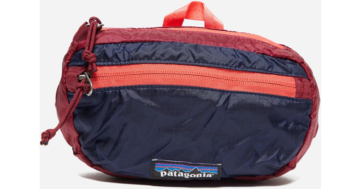 05edc2023ab4 Lyst - Patagonia Lw Travel Mini Hip Pack in Red for Men