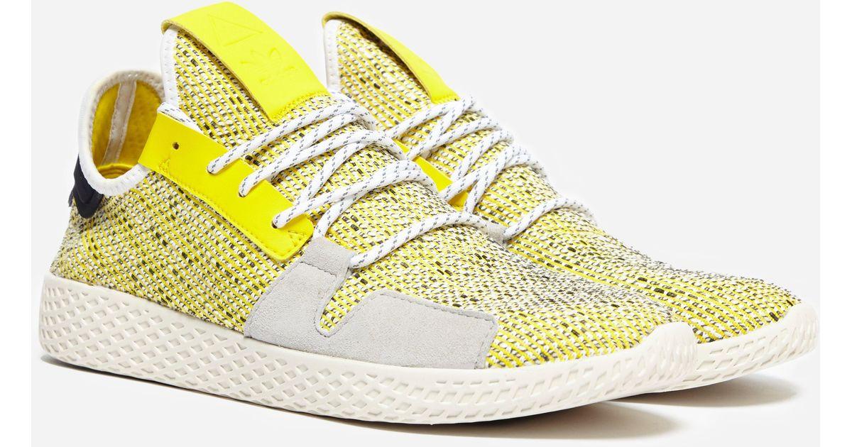 5717c50d4 adidas Originals Williams Afro Pack Solar Hu Tennis V2 in Yellow for Men -  Lyst