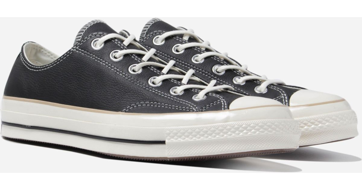 6c58463233cd Converse Chuck 70 Ox in Black for Men - Save 13% - Lyst