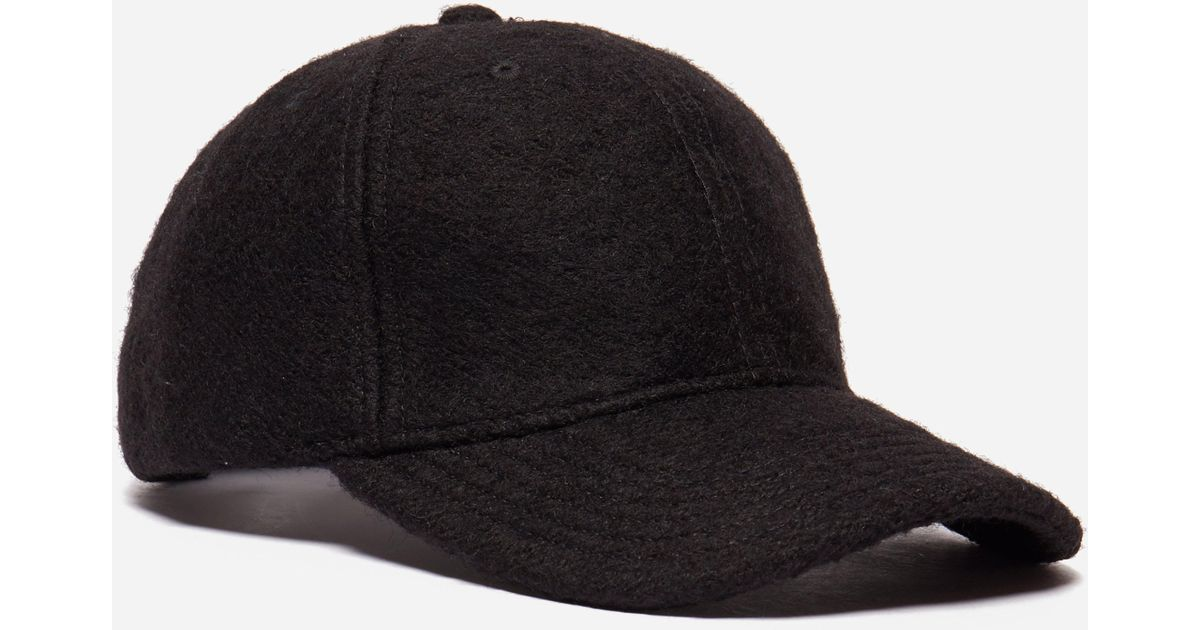 02e0c5cc4f6 Lyst - NN07 Baseball Cap in Black for Men