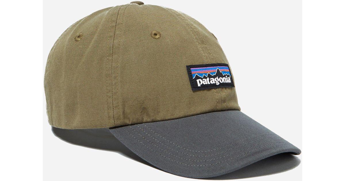 b964a852 Patagonia P6 Label Trad Cap in Green for Men - Lyst