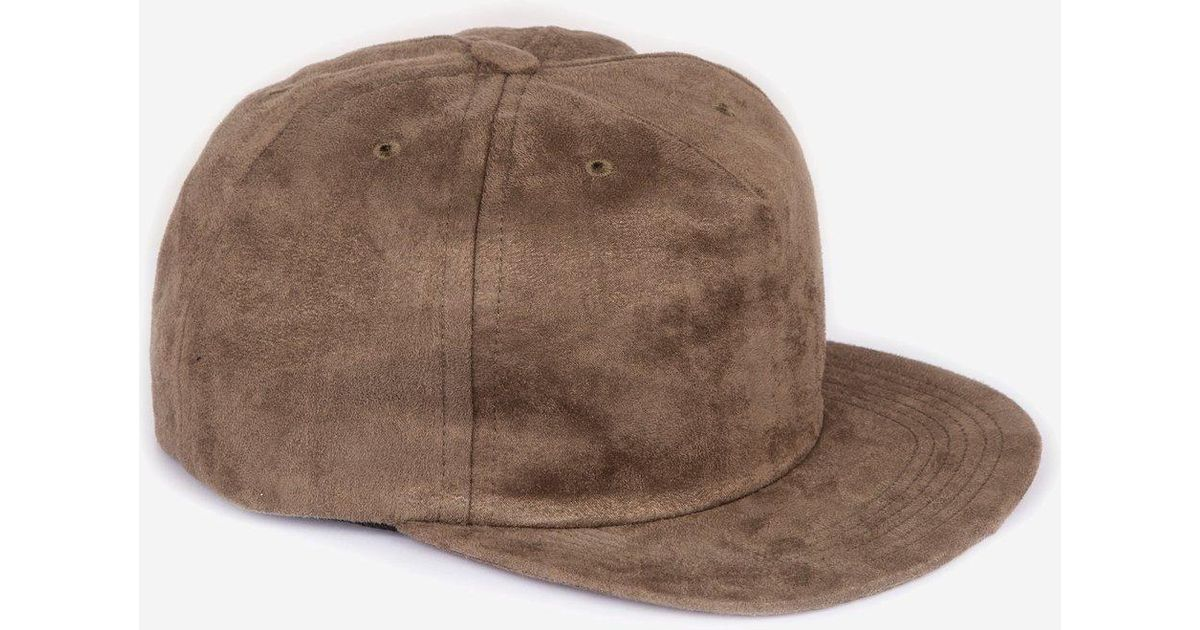 651b97b29a5 Lyst - Norse Projects Fake Suede Trucker Cap in Green for Men