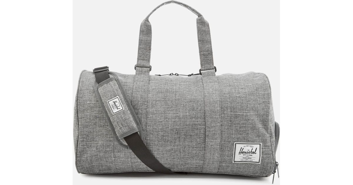 bc888db5c4 Herschel Supply Co. Novel Duffle Weekend Bag in Gray for Men - Lyst