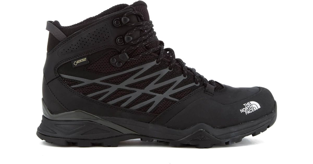 5e0e38d600 The North Face Hedgehog Hike Mid Gore-tex Boots in Black for Men - Lyst