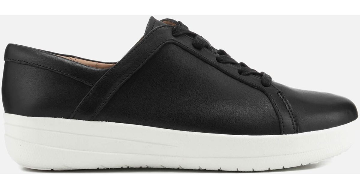 baa6bb1cfea0cf ... Lyst - Fitflop F-sporty Ii Lace Up Trainers in Black lowest discount  506b6 11803 ...