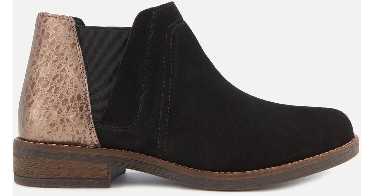Boots Clarks Black Demi In Lyst Beat Ankle Suede zWTcdqnH