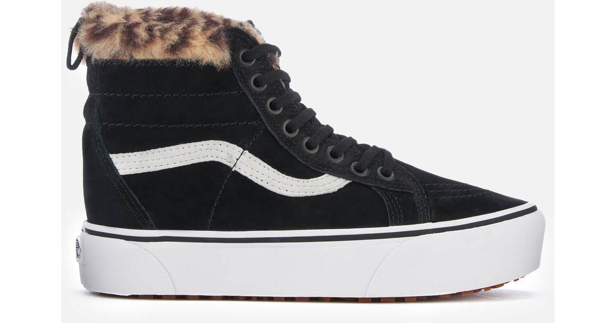 Lyst - Vans Sk8-hi Platform Mte Black Sneakers in Black - Save 6% 71d5ed4ea