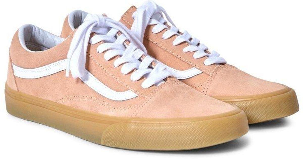 22781874f462 Lyst - Vans Old Skool Trainers Gum Sole Orange in Orange for Men