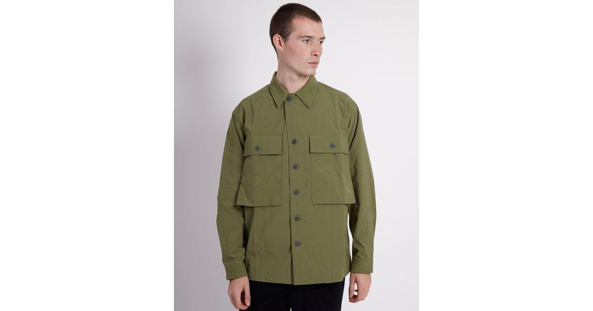 b463b370e4c Lyst - Kestin Hare Dunvegan Usmc Overshirt Jacket Khaki in Green for Men