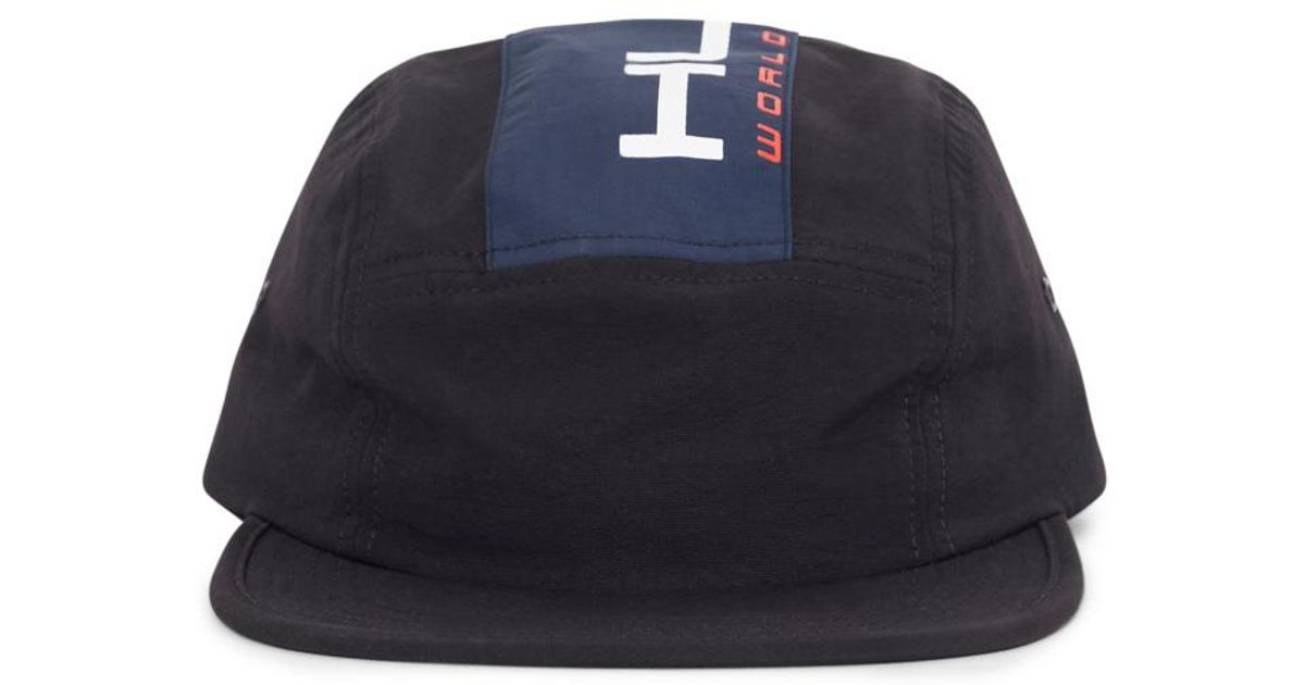 18b73ca1894b0 Lyst - Huf Palisades Volley Hat Black in Black for Men