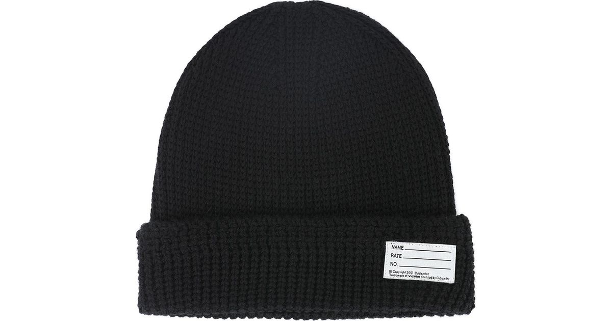 Black Knit Beanie Visvim 8LDFOrwtY