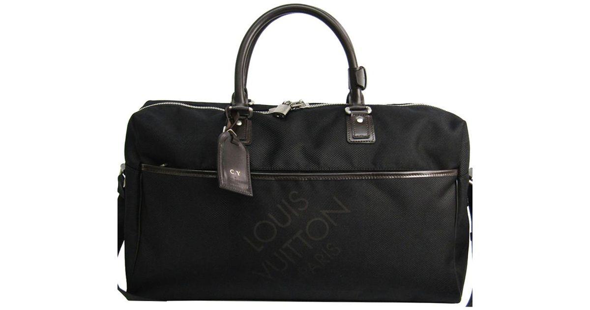 139aa0b101f3 Lyst - Louis Vuitton Damier Geant Canvas Albatros Duffel Bag in Black for  Men