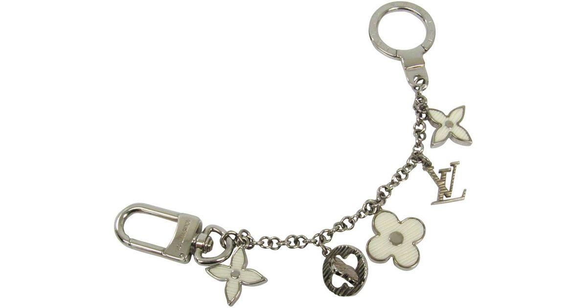 aefacb7571e6 Lyst - Louis Vuitton Tone Chain Fleur D epi Bag Charm in Metallic