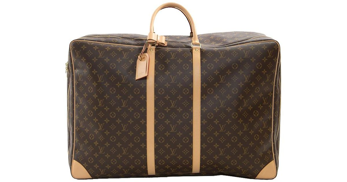 4c2e4057dabe Louis Vuitton Monogram Canvas Sirius 70 Soft Sided Suitcase in Brown for  Men - Lyst