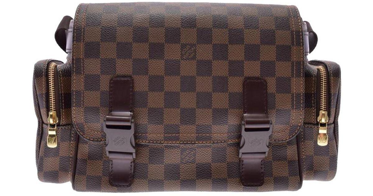 1b32b7635 Louis Vuitton Damier Ebene Canvas Melville Reporter Bag in Brown for Men -  Lyst