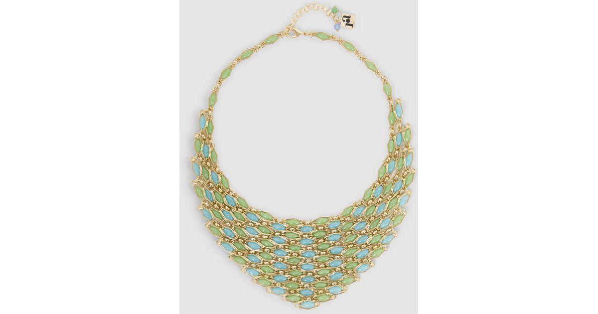 Rosantica Destino Gold-Tone Quartz Necklace onyIAle