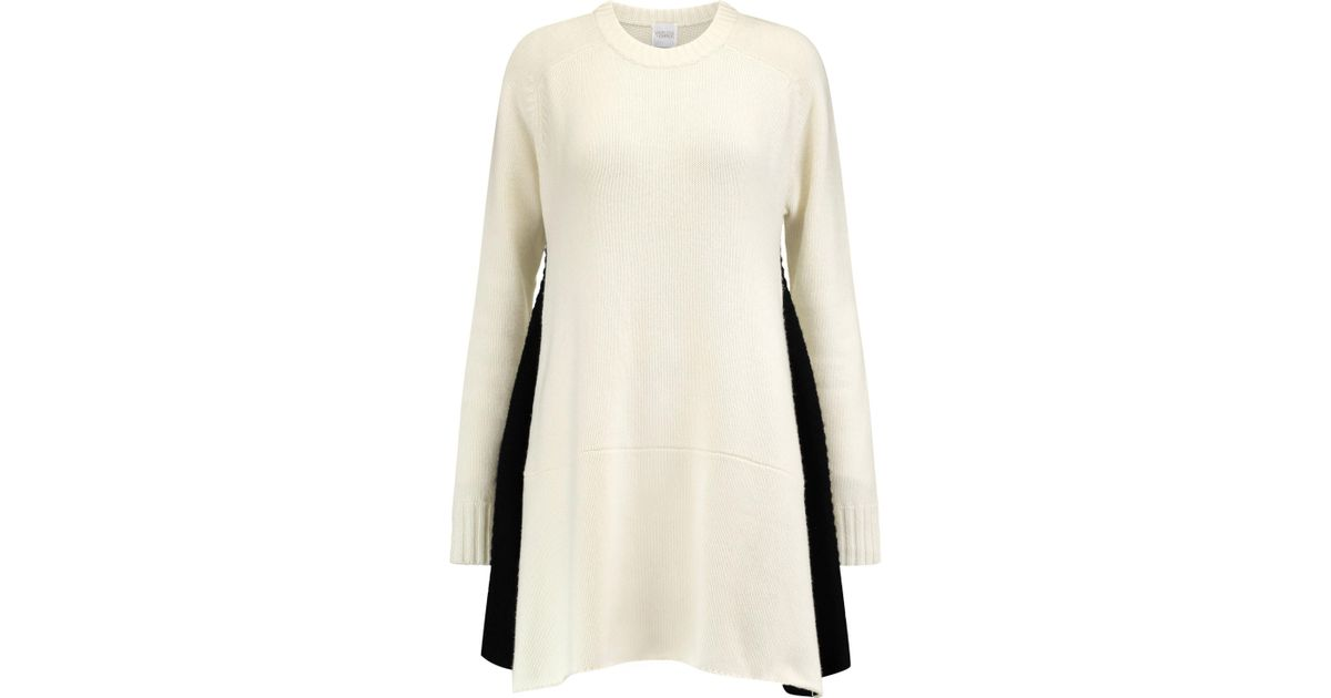 Madeleine Thompson Woman Milo Wool And Cashmere-blend Dress Ivory Size M Madeleine Thompson Cheapest For Sale j3qfzJ