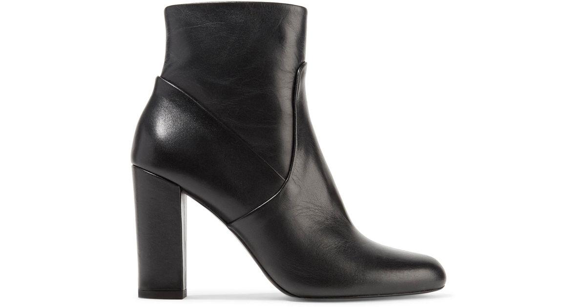 chunky heel ankle boots - Black P.A.R.O.S.H. sfSPCgseZ