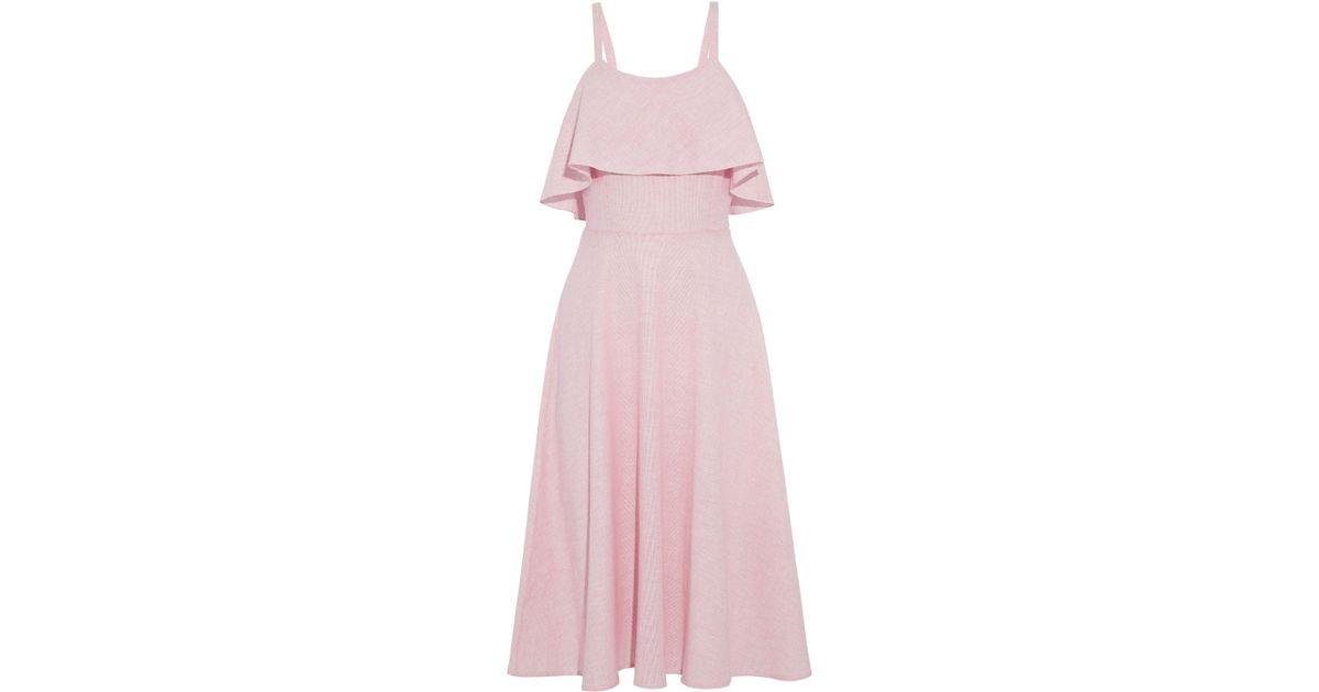 35d16d494b2d Kain 3 4 Length Dress in Pink - Lyst