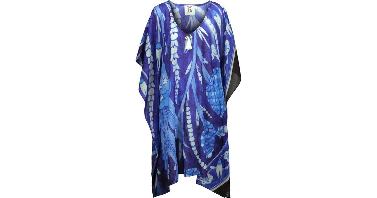 tassel details kaftan - Blue Figue fD9pyRyVrM