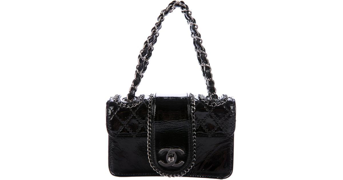 10276ac20079 Lyst - Chanel Small Madison Flap Bag in Black