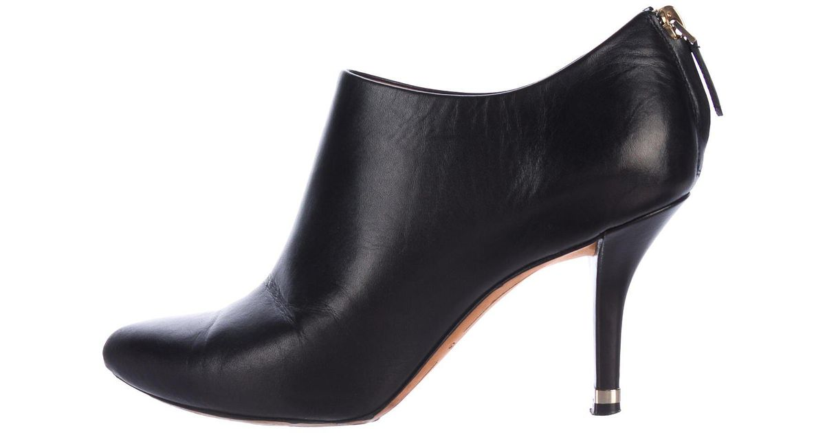 Givenchy Leather Pointed-Toe Booties nicekicks online g8bh6pY