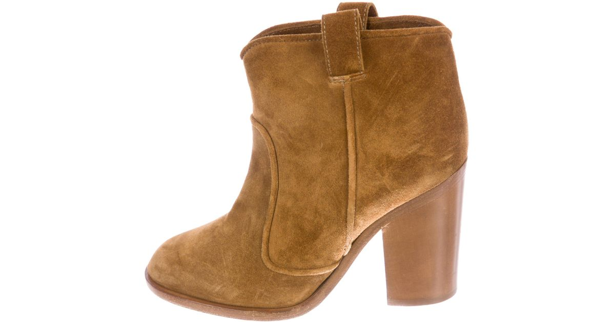release dates cheap online deals cheap online Laurence Dacade Suede Round-Toe Boots classic online store sale cheap best store to get cjagpQQUz