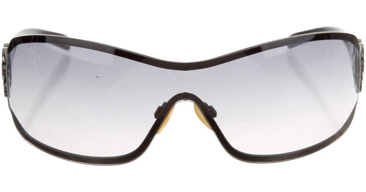 1e9ccd38a1e Lyst chanel strass camellia sunglasses in black jpg 1200x630 Chanel  camellia sunglasses