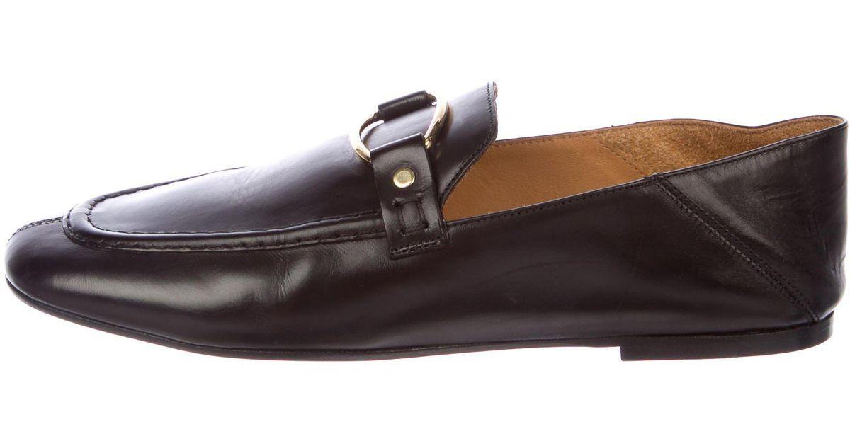 cheap sale footlocker Isabel Marant 2017 Ferlyn Leather Loafers sale visit new cheap sale shop for R6J53XE0qz
