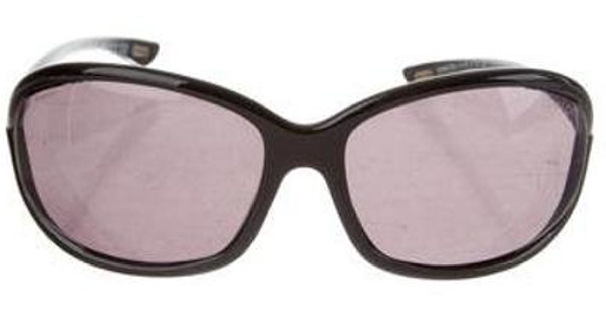 fe3e6f4e15 Lyst - Tom Ford Jennifer Gradient Sunglasses Black in Metallic