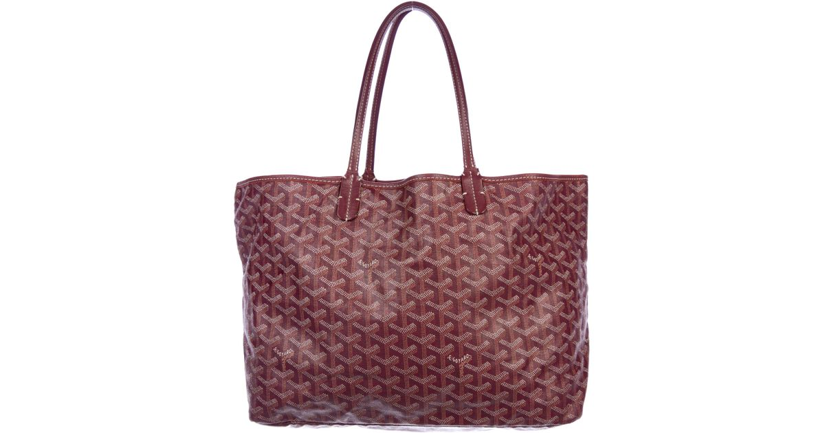 146109705c46 Lyst - Goyard Ine St. Louis Pm W  Pouch Multicolor in Natural